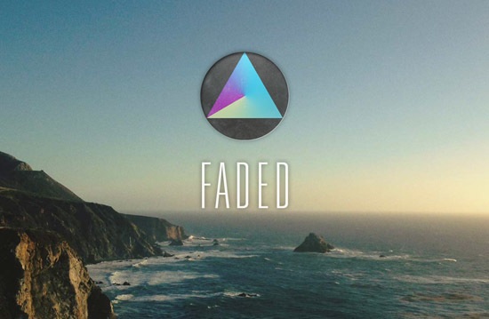 Faded is a handy photo editor with filters and effects